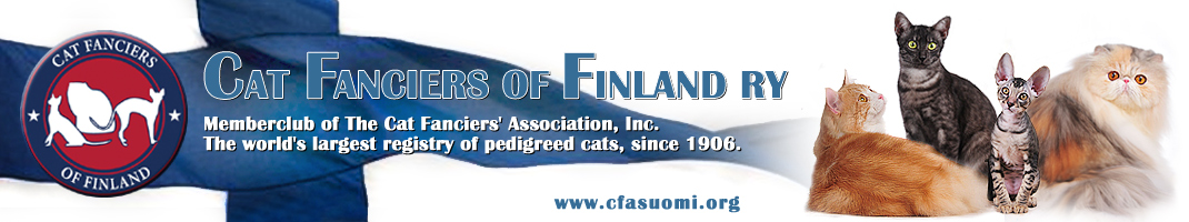 Cat Fanciers of Finland | CFF